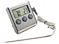 Термометр TP-700 с проводным термосенсером и звуковым датчиком